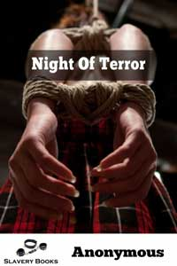 cover design for the book entitled Night of Terror