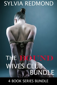 cover design for the book entitled The Bound Wives Club Bundle