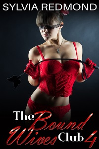 cover design for the book entitled The Bound Wives Club 4