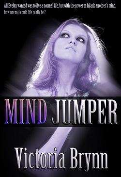 cover design for the book entitled Mind Jumper