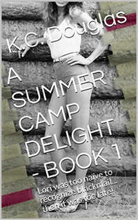 cover design for the book entitled A Summer Camp Delight
