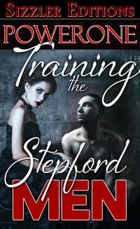 cover design for the book entitled Training the Stepford Men