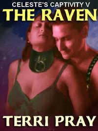 cover design for the book entitled The Raven [Celeste