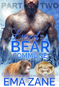 cover design for the book entitled Lured To The Bear Commune