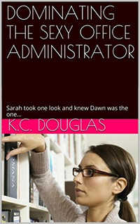 cover design for the book entitled Dominating the Sexy Office Administrator