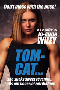 cover design for the book entitled Tomcat: A Sex Thriller