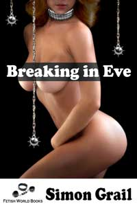 cover design for the book entitled Breaking in Eve