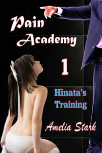 cover design for the book entitled Pain Academy (Hinata
