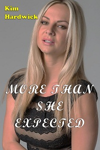 cover design for the book entitled More Than She Expected