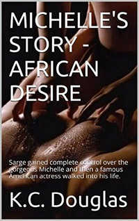 cover design for the book entitled Michelle