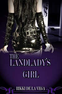 cover design for the book entitled The Landlady