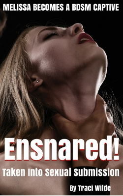 cover design for the book entitled Ensnared: Taken Into Sexual Submission