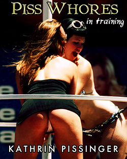 cover design for the book entitled CENSORED Whores In Training