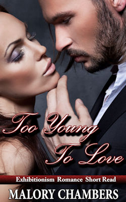 cover design for the book entitled Too Young To Love