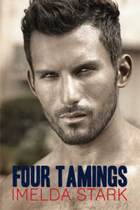 cover design for the book entitled Four Tamings: A Novel of Erotic Domination