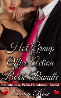 cover design for the book entitled Hot Group Office Action Book Bundle