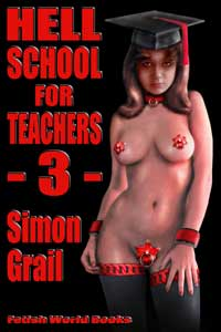 cover design for the book entitled Hell School for Teachers 3