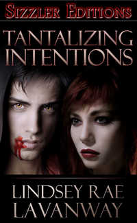 cover design for the book entitled TANTALIZING INTENTIONS