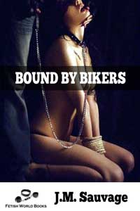 cover design for the book entitled Bound By Bikers