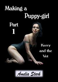 cover design for the book entitled Making a Puppy-girl