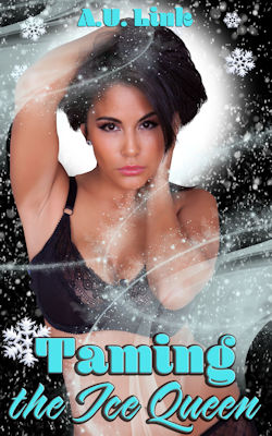 cover design for the book entitled Taming The Ice Queen