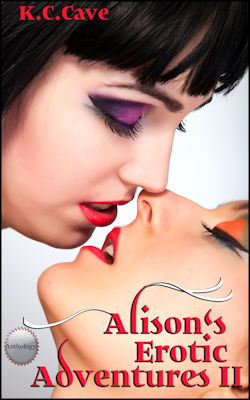 cover design for the book entitled Alison