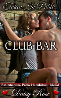 cover design for the book entitled Club Bar