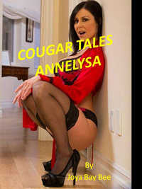 cover design for the book entitled Cougar Tales: Annelysa