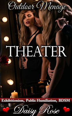 cover design for the book entitled Theater
