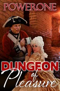 cover design for the book entitled Dungeon of Pleasure