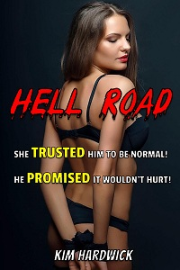 cover design for the book entitled Hell Road