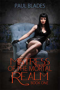 cover design for the book entitled Mistress of the Mortal Realm