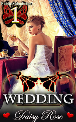 cover design for the book entitled Wedding