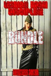 cover design for the book entitled Lesbian BDSM Discipline Bundle