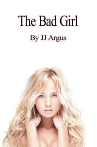 cover design for the book entitled The Bad Girl