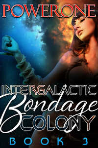 cover design for the book entitled Intergalactic Bondage Colony, Book 3
