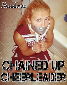 Chained up Cheerleader