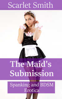 cover design for the book entitled The Maid