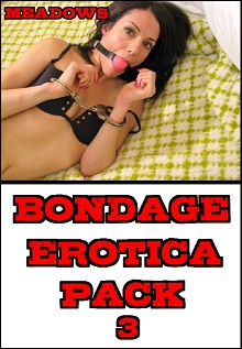 cover design for the book entitled Bondage Erotica Pack 3