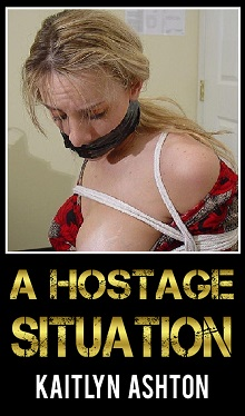 cover design for the book entitled A Hostage Situation
