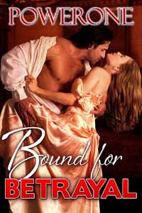 cover design for the book entitled Bound for Betrayal