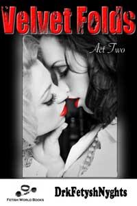cover design for the book entitled VELVET FOLDS - Act Two