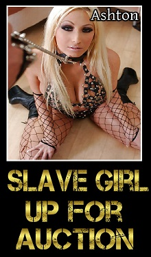 cover design for the book entitled Slave Girl: Up For Auction