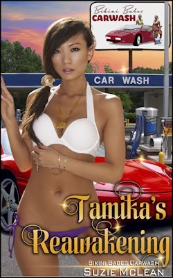 cover design for the book entitled Tamika