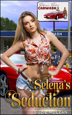 cover design for the book entitled Selena