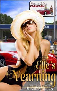 cover design for the book entitled Elle