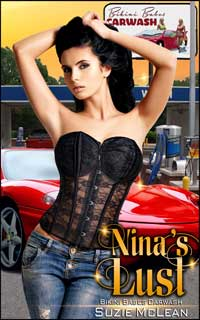 cover design for the book entitled Nina