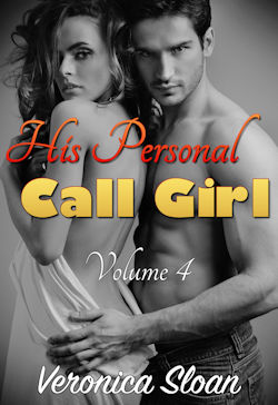 cover design for the book entitled His Personal Call Girl - Volume 4