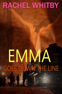 cover design for the book entitled Emma Goes Down The Line