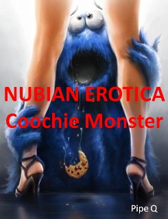 cover design for the book entitled Nubian Erotica: Coochie Monster